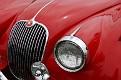 1961 Jaguar XK150 Drop Head Coupe grille detail