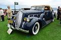 1938 Pierce-Arrow 1801 Convertible Coupe front exterior view