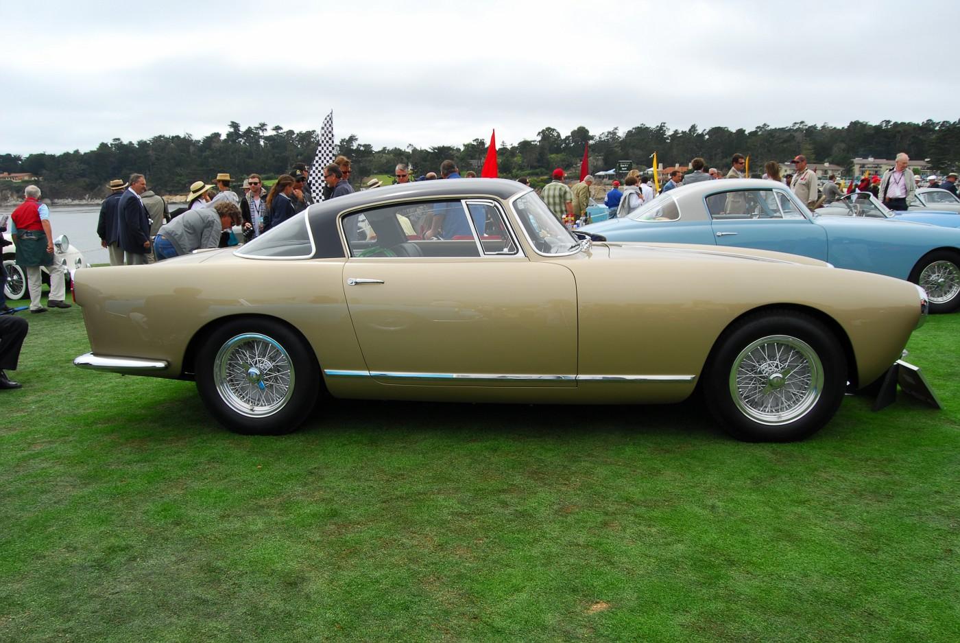 1957 Ferrari 250 GT Boano Coupe side exterior view