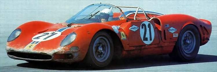 Ferrari 365 P2 3 21 Finsihed 4th