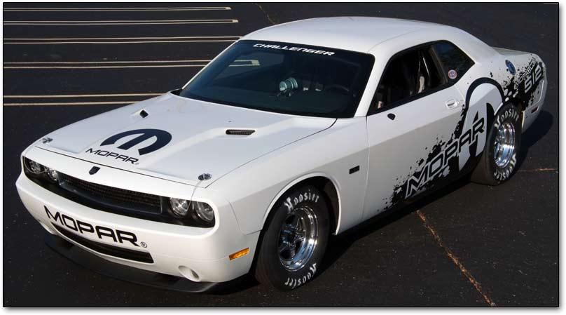 Photo: Dodge Challenger PAK V-10 factory drag car | Dodge