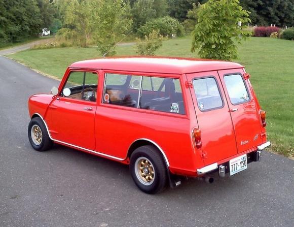 Photo 1964 Austin Mk1 Mini Countryman Estate For Sale Rear Resize