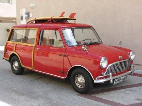 Photo 1964 Austin Mini Clubman Woodie Wagon Front 1 Mini Classic