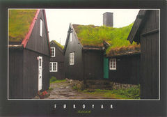 Faroe - TRADITIONAL HOUSES NS