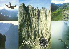 Norway - Fjellhopp Cliffs