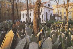 Czech Rep - Old Jewish Cemetery