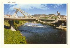 32 - ORENSE - Puente nuevo sobre el rio Miño