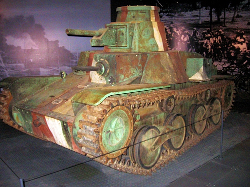 Japanese tank at their museum of history