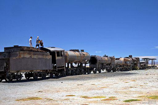 Szczątki lokomotyw
