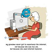 Grandma - Weekly comic about web developers, software and browsers