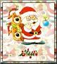 Santa with friendsTaGlyn