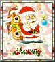 Santa with friendsTaSharing