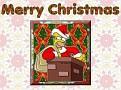 Homer Santa Wallpaper