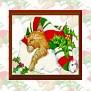 Kitten Santa Hat WallpaperSM