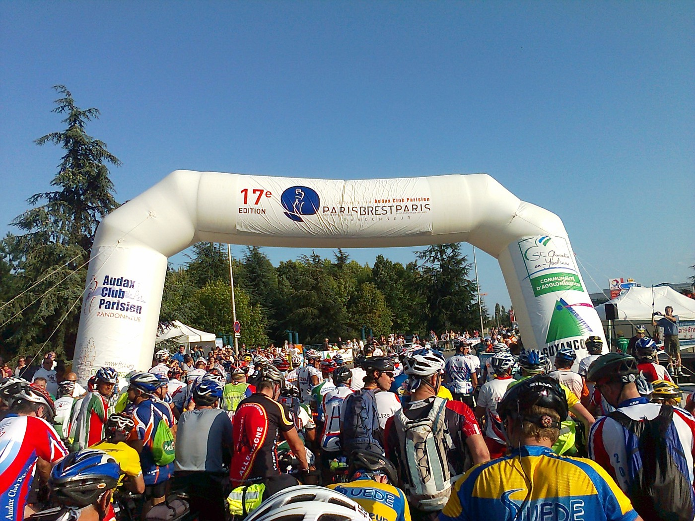 Waiting for the start