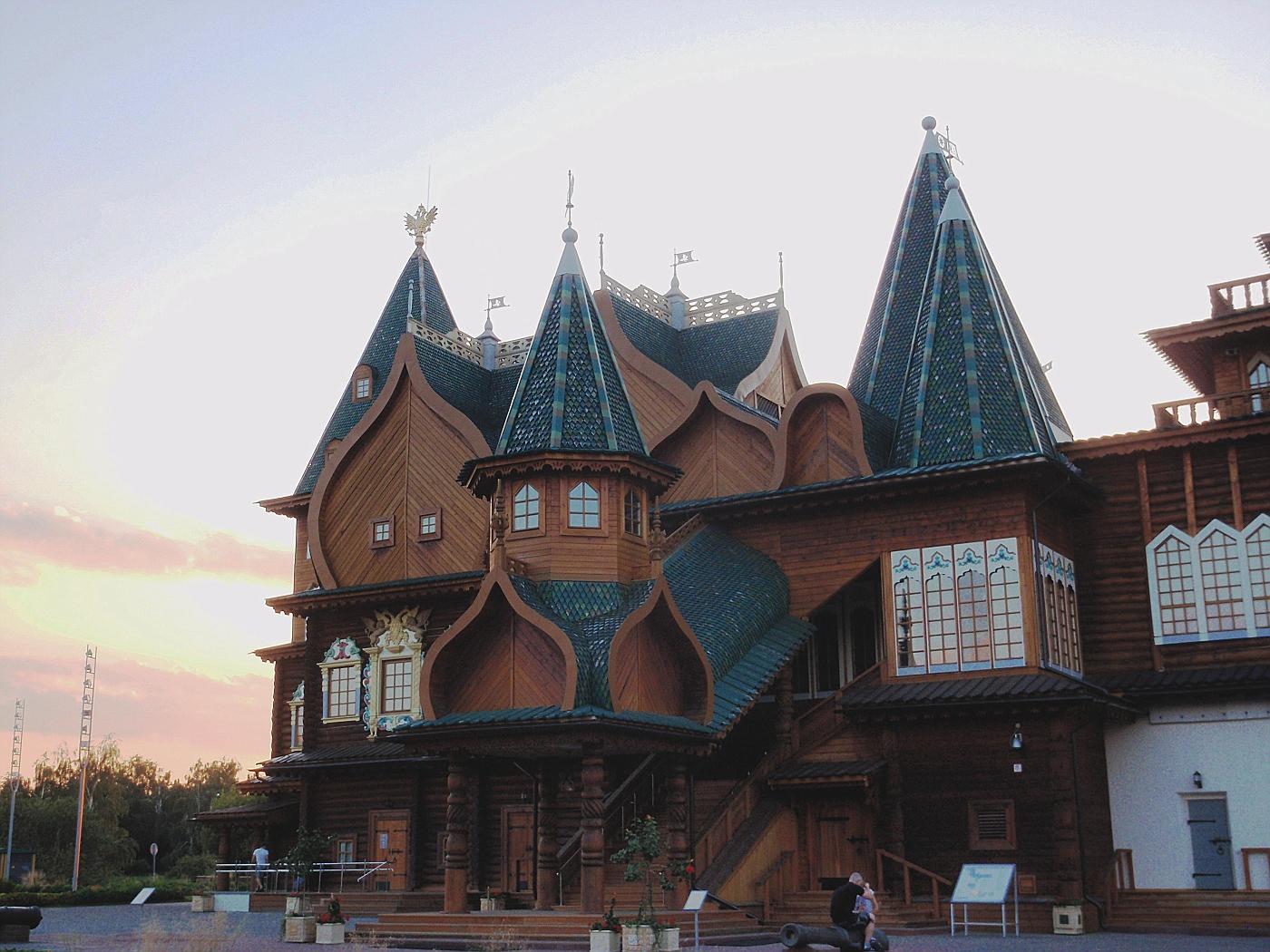 Reconstruction of the Wooden Palace, Kolomenskoe