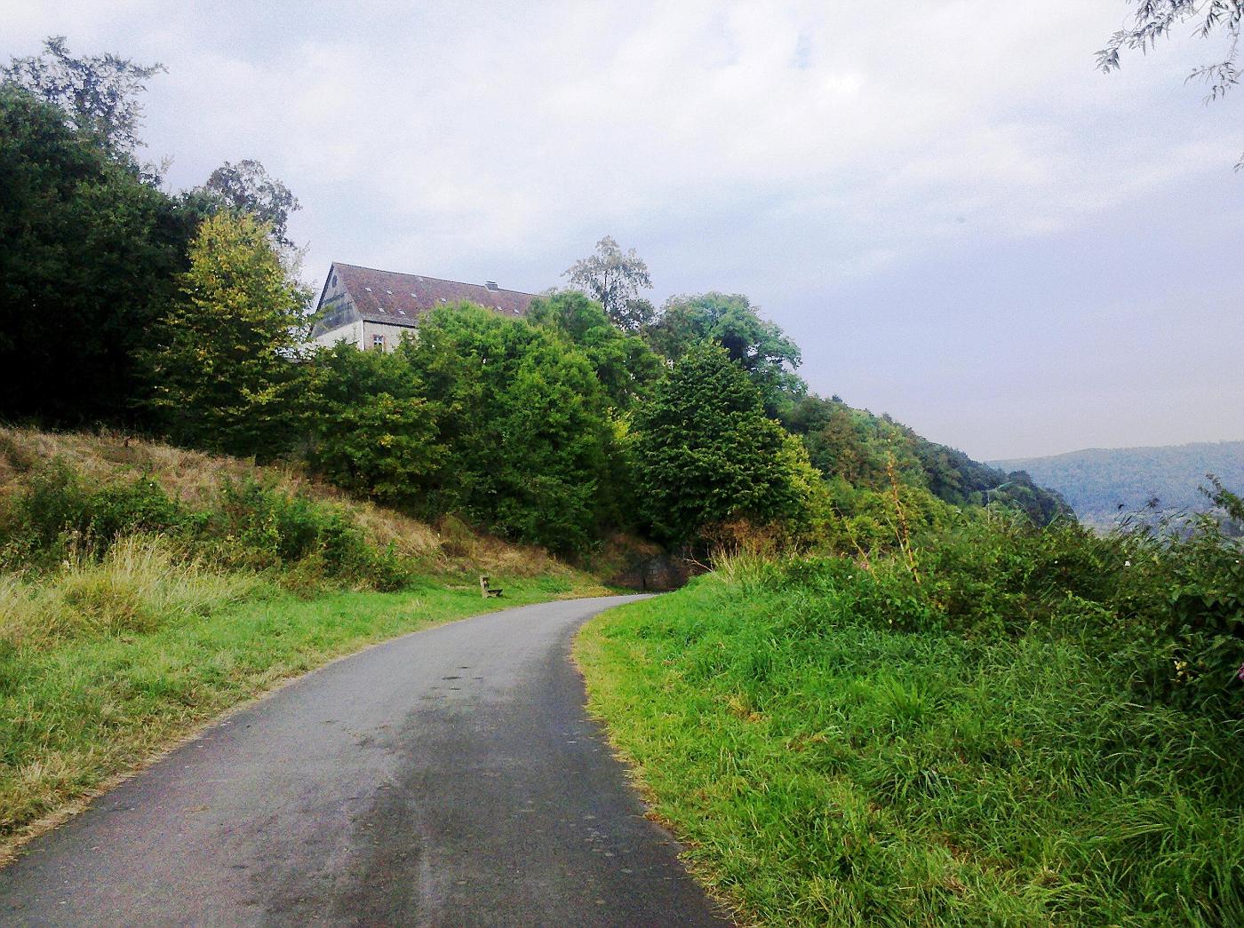 Weser-Radweg Blankenau