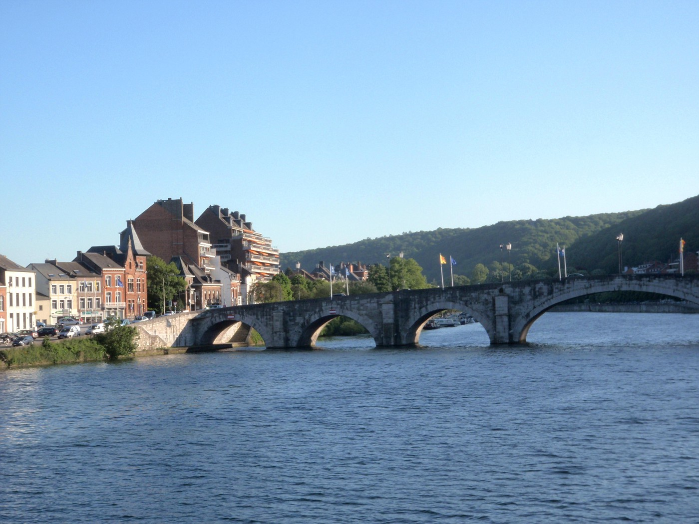 Meuse et Pont de Jambes