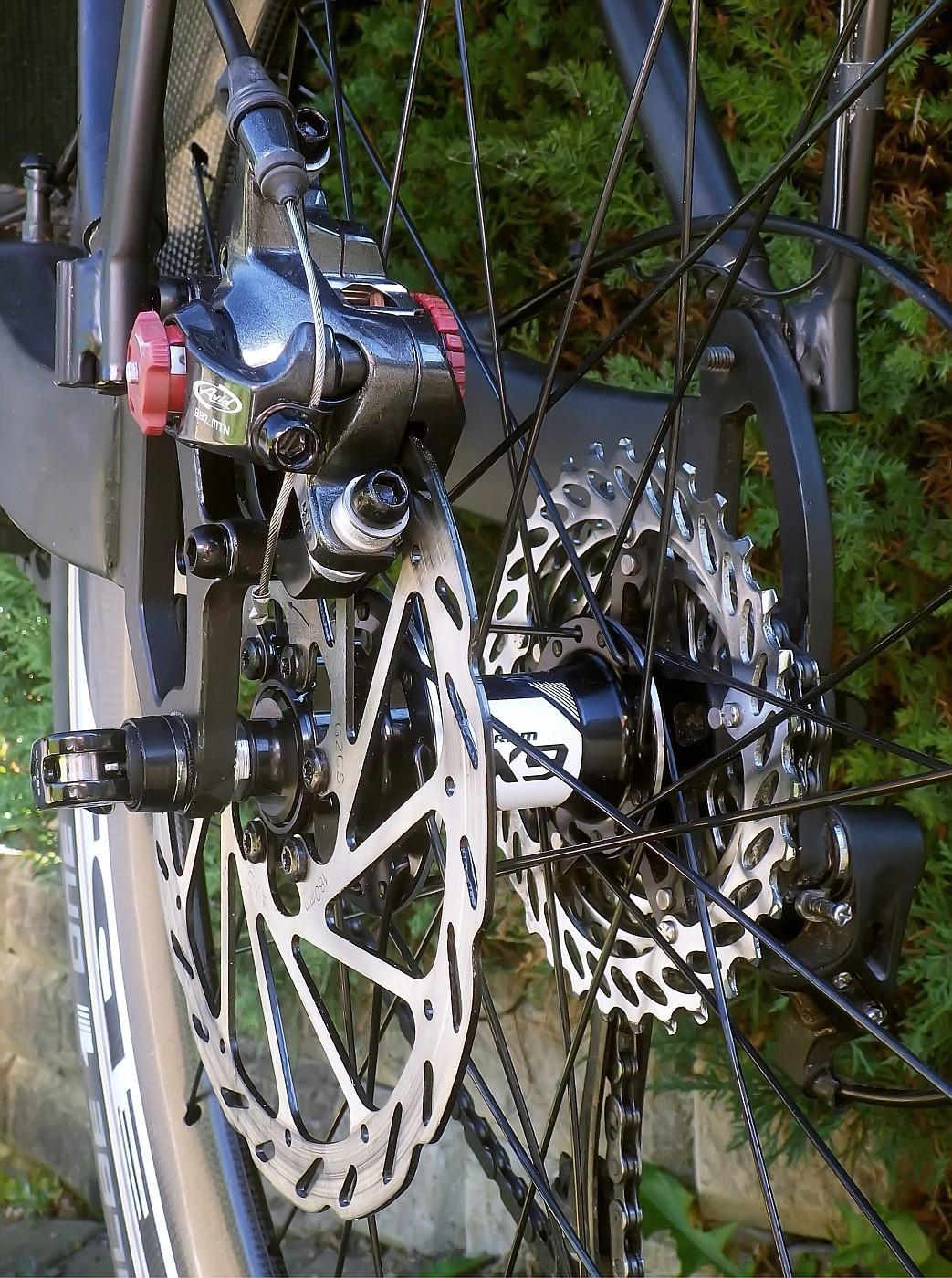 Rear brake replaced