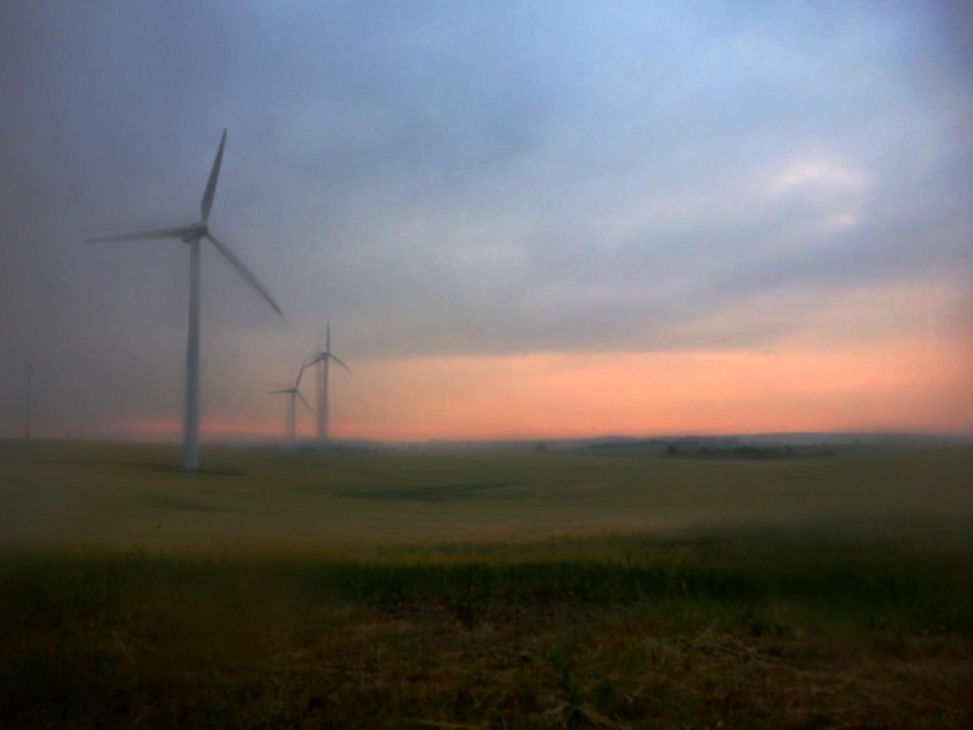 Feuchtes Morgenrot bei Bützow