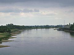 Die Elbe bei Tangermünde