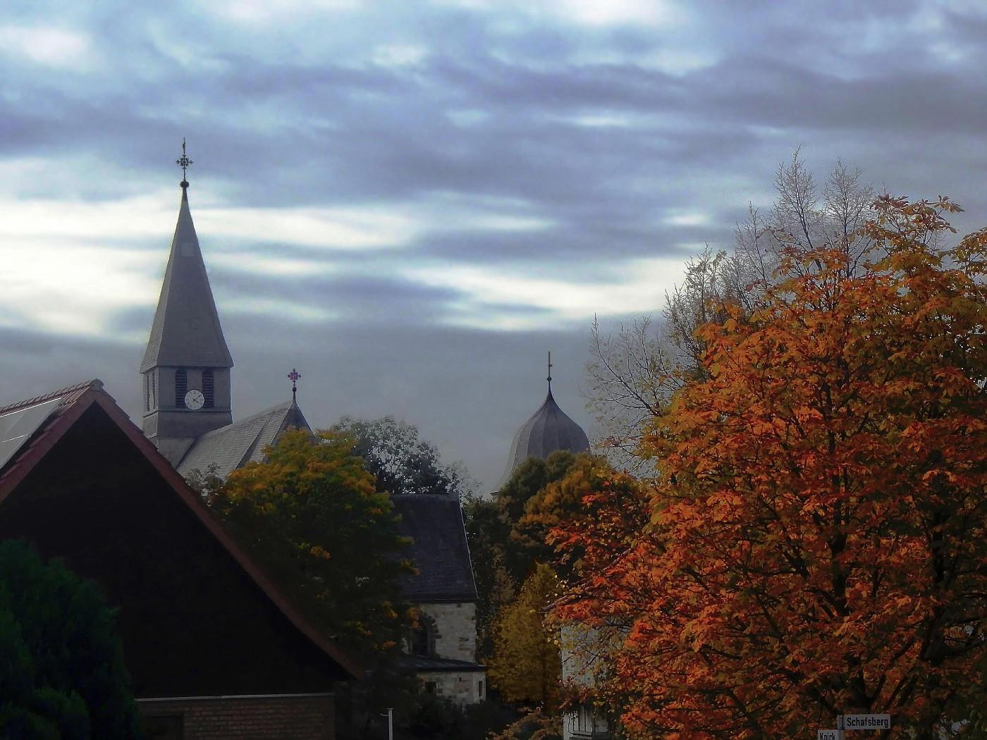 Wewelsburg und Kirche