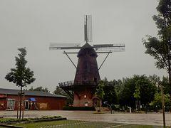 Mühle in grau