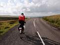 Damon on road in Cumbria