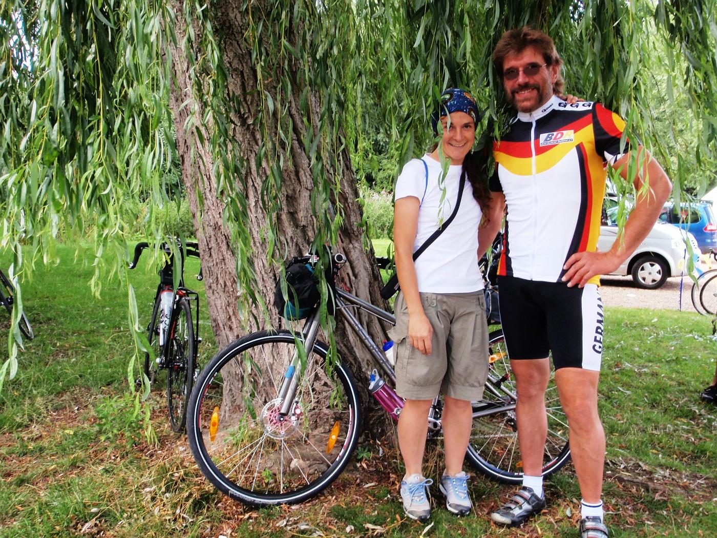 La ciclista italiano Ausilia