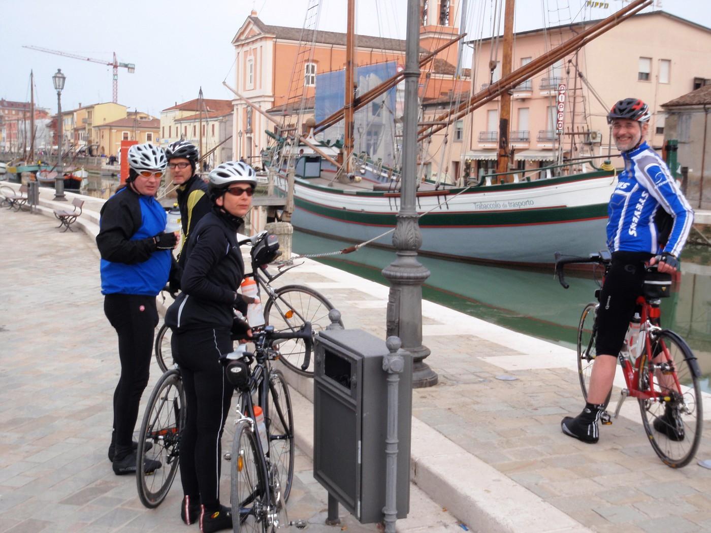Stefan, Bernd, Kirsten & Wolfgang al porto