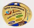 Super Randonneur Medaille 2007