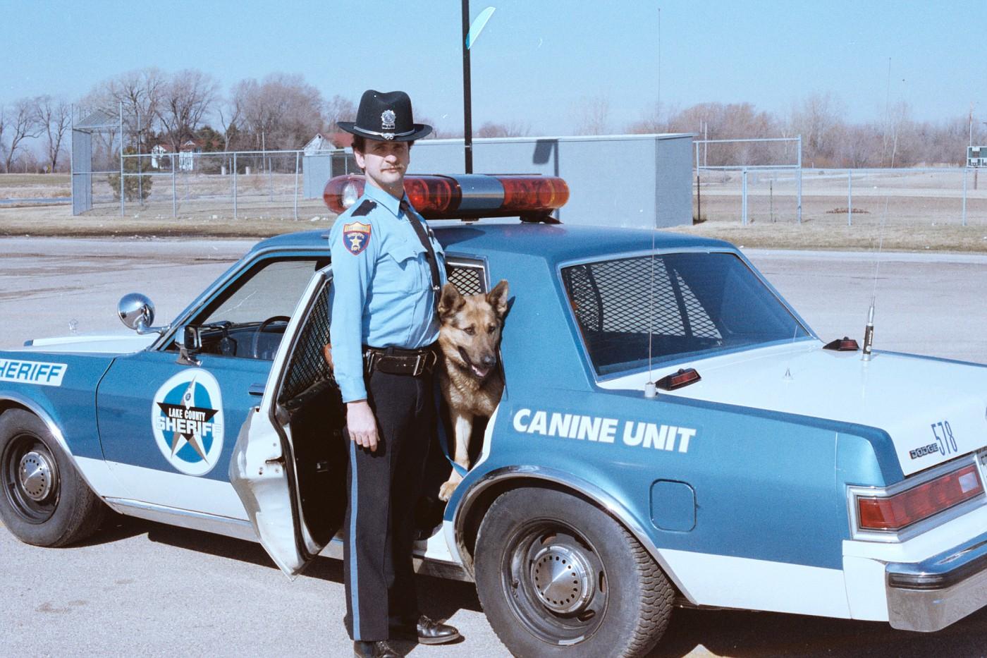 Photo: IL - Lake County Sheriff 1983 Dodge Diplomat K-9