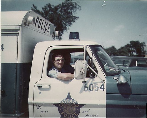 Chicago Police Ford Squadrol in 1971