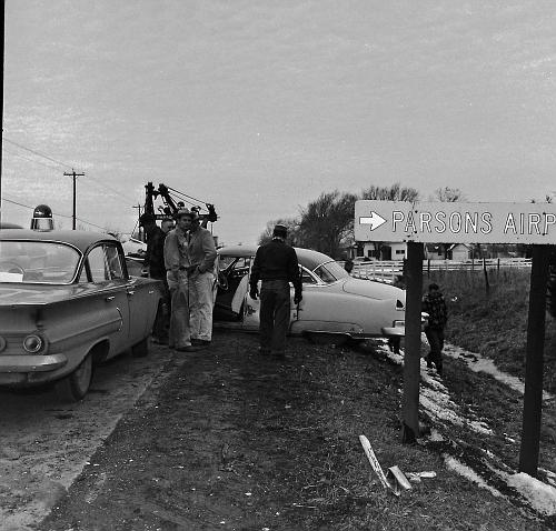 KS- Parsons Police 1960 Chevrolet