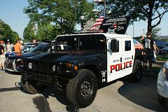 Rolling Meadows (IL) PD car show - June