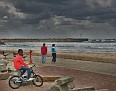 Stormy weather in Ashdod