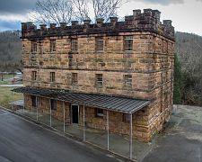 Old Scott County Jail, in Huntsville TN.