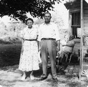 C-Samuel Rufus Thomas and his sister Kate I think