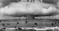 20 - Hiroshima or Nagasaki atomic bomb blast
