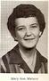Mary Ann Watson