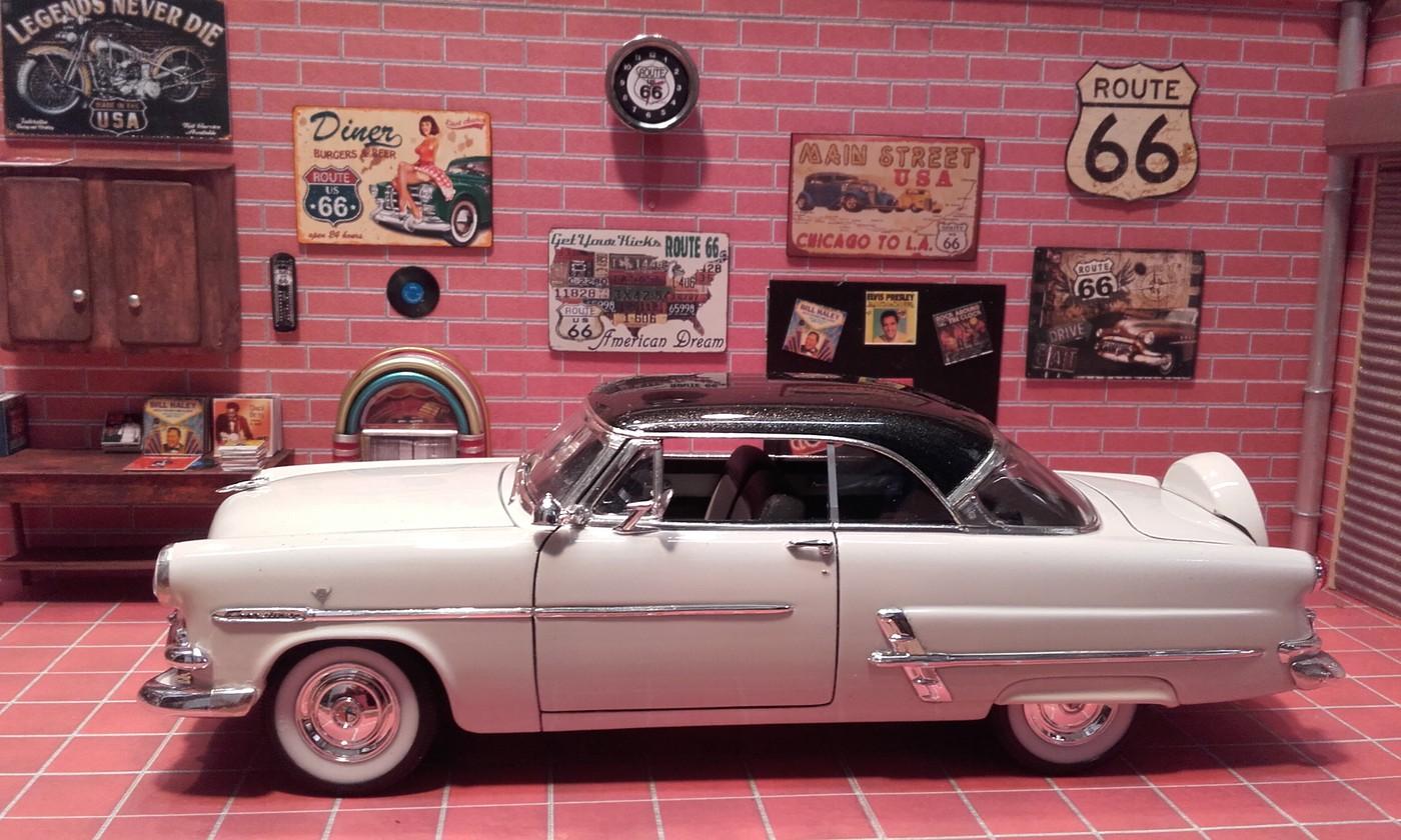 """Garage  d""""un nostalgique de la route 66 terminé Photo-vi"""