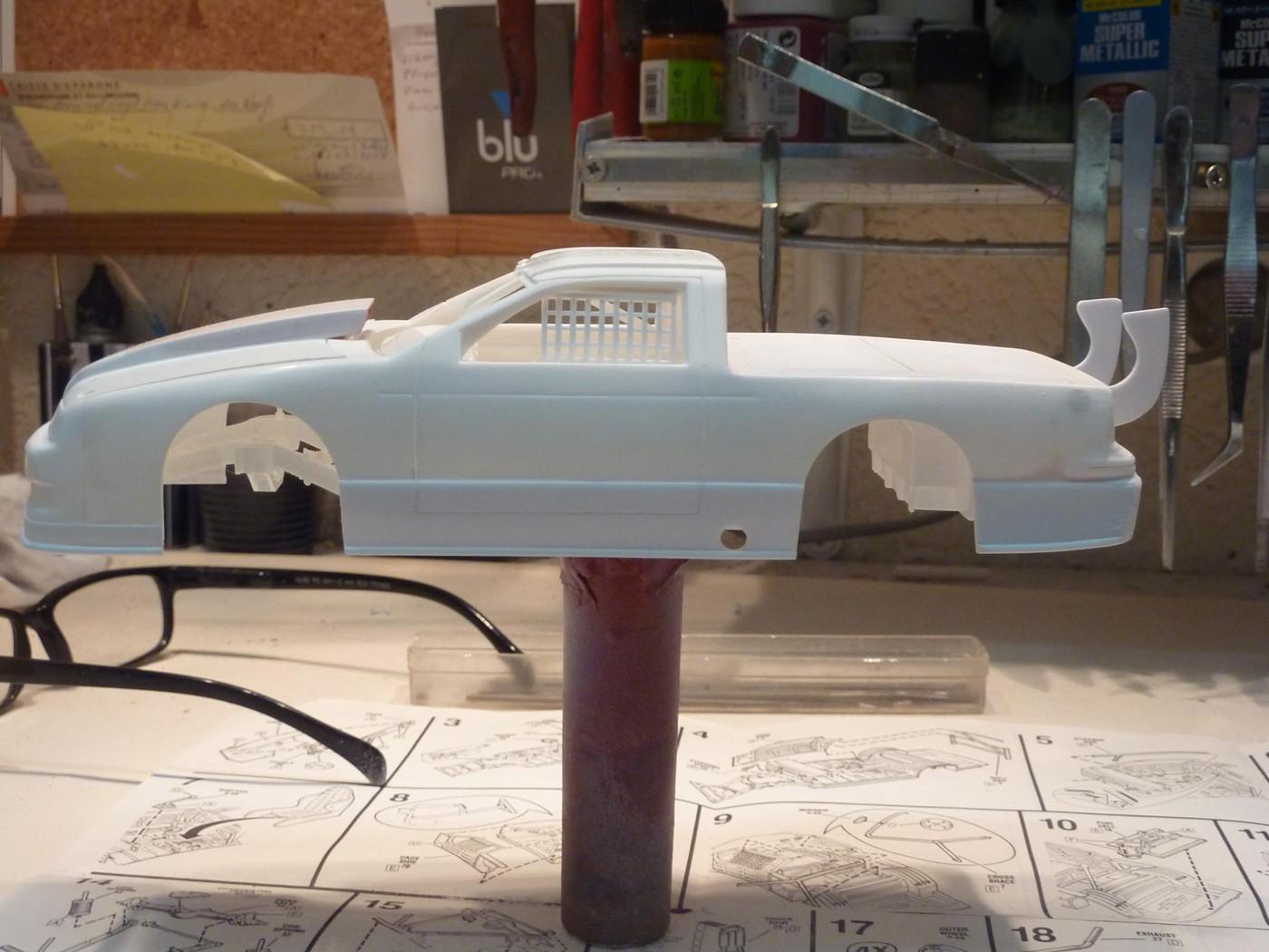Ford T Bird Pickup racer Bonneville ( Ex Nascar) terminée  Photo19-vi