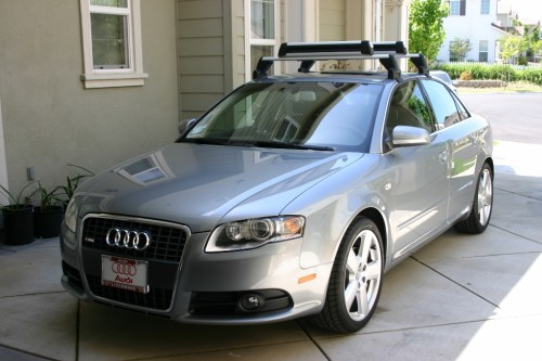 Audi A4 Oem Base Roof Rack Ski Attach 6speedonline
