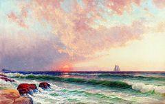 Sunset over the Coast [undated]