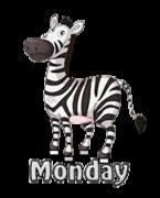 DOTW Monday - DancingZebra