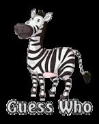 Guess Who - DancingZebra