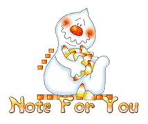 Note For You - CandyCornGhost