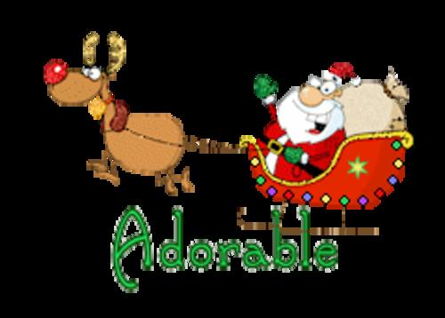 Adorable - SantaSleigh