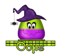 Oops - CandyCornWitch
