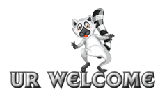 UR Welcome - RaccoonStepOnName